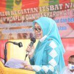 Dyah Apresiasi Pelaksanaan Itsbat Nikah Korban Konflik dan Masyarakat Miskin Pidie Jaya