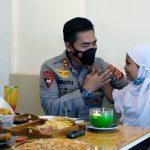 Kapolda Aceh Temui Nayla, Gadis Cilik Ingin Jadi Polwan