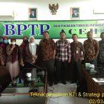 Dr Rahmat Fadhil, Penerima Hibah Riset Berikan Bimbingan di BPTP Balitbangtan Aceh