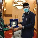 Gubernur Terima Kunjungan Komandan Lanal Sabang