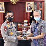 Polda Aceh Terima Audiensi GM PLN