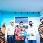 Pemko Banda Aceh Serahkan Rumah Layak Huni Untuk Warga Miskin