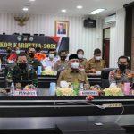 Kapolda Aceh bersama Gubernur dan Pangdam IM Pimpin Rakor Karhutla