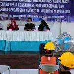 SMKN 1 Al Mubarkeya Gandeng BJKW-1 dan LPJK Laksanakan UKK untuk Siswa DPIB