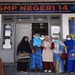 Dosen FP-USK, Perkenalkan Inovasi Produk Sabun Cair  di Sekolah SMPN 14 Banda Aceh