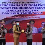 Irwasum Polri bersama Kapolda Aceh Hadiri FGD Pencegahan Pungli