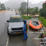Sempat Terjebak Banjir, 5 Pengunjung Wisata Berhasil Dievakuasi Ditpolairud Polda Aceh