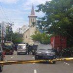 Kapolri Perintahkan Kepala Densus 88 Cek TKP Ledakan di Gereja Katedral Makassar