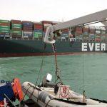 Kapal Ever Given Nyangkut di Terusan Suez mulai Bisa Bergerak