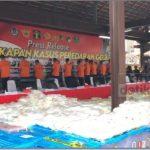Polri Tangkap 18 Pelaku dan BB 2,5 Ton Sabu Senilai Rp 1,2 Triliun di Aceh