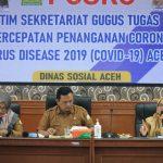 Tim PPID Utama Bekali Petugas Desk Layanan Dinas Sosial Aceh