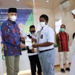 Pemerintah Aceh Serahkan Bantuan Beasiswa Pendidikan Untuk Ahli Waris Peserta BPJS Ketenagakerjaan