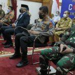 Gubernur Aceh Ikuti Rapat Penanganan Covid-19 Bersama Lintas Kementerian