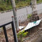 Pamplet Asmaul Husna Mulai Berjatuhan di Jalan Komplek Perkantoran Suka Makmue Nagan Raya