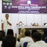 Masuk 10 Besar Nasional, Kadisdik Aceh Apresiasi Guru dan Tenaga Kependidikan