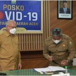 Sekda Pimpin Serah Terima Jabatan Kepala Badan Pengelolaan Keuangan Aceh