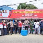 Peringati Hari Bhayangkara Ke-75, Polres Gayo Lues Gelar Donor Darah