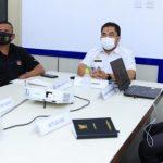 Perkuat Sosialisasi, Bidkom Satgas Covid-19 Aceh Rapat Koordinasi