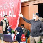 Sekda Taqwallah Pantau Pelaksanaan Vaksinasi Covid-19