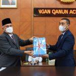 Sekda Sampaikan Rancangan Qanun Aceh Tentang Pertanggungjawaban Pelaksanaan APBA Tahun Anggaran 2020