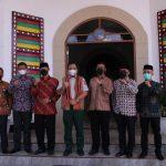 Bupati Gayo Lues Sambut Kedatangan Deputi Rehabilitasi dan Rekonstruksi BNPB RI