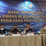 Tingkatkan Pengawasaan Perairan, Pangkalan PSDKP Lampulo Gelar Forum Koordinasi Bersama
