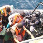 TNI AL Jemput Lima Nelayan yang Terdampar di Malaysia Akibat Kecelakaan