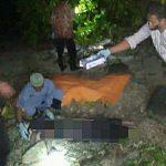 Polres Simeulue Lakukan Olah TKP Penemuan Mayat dipantai Ujung Bala