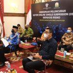 Gubernur Aceh Ikuti Peluncuran Sistem OSS Berbasis Risiko Bersama Presiden