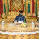 Bahas Peringatan Hari Damai Aceh, Gubernur Terima Audiensi BRA