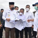 Gubernur Aceh Tinjau Pembangunan Arena MTQ di Bener Meriah