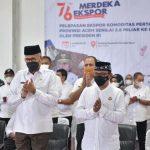 Gubernur Aceh Ikuti Pelepasan Ekspor Kopi Arabika Gayo ke USA Bersama Presiden Jokowi