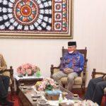 Gubernur Aceh Terima Audiensi Pihak Garuda Indonesia dan Citilink