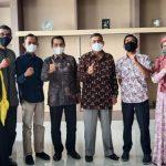 Dekan Fakultas Perikanan UTU Kunjungi DKP Aceh, Bahas Program Magang Mahasiswa