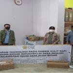 """Penerapan Teknologi Pengolahan Kulit Rumahan """"Home Industry"""" di Desa Reuloh Kecamatan Ingin Jaya Aceh Besar"""