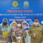 Dinas Pangan Aceh Adakan Pelatihan Pengolahan Industri Pangan Lokal Skala UMKM