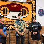 Gubernur Aceh Motivasi Atlet Angkat Besi Nurul Akmal