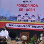 Gubernur Nova Laporkan ke Presiden Tentang Upaya Penanganan Covid-19 di Aceh