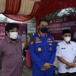 Kadis DKP Aceh Pantau Pelaksanaan Vaksinasi Merdeka di PPS Lampulo