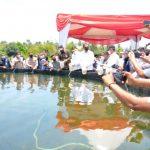 Menteri KKP Trenggono, Kebehasilan Budidaya Udang Vanname di Aceh Timur Cukup Bagus