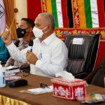 Sekda Aceh Sosialisasi Vaksinasi Covid-19 bagi Warga Dayah di Singkil
